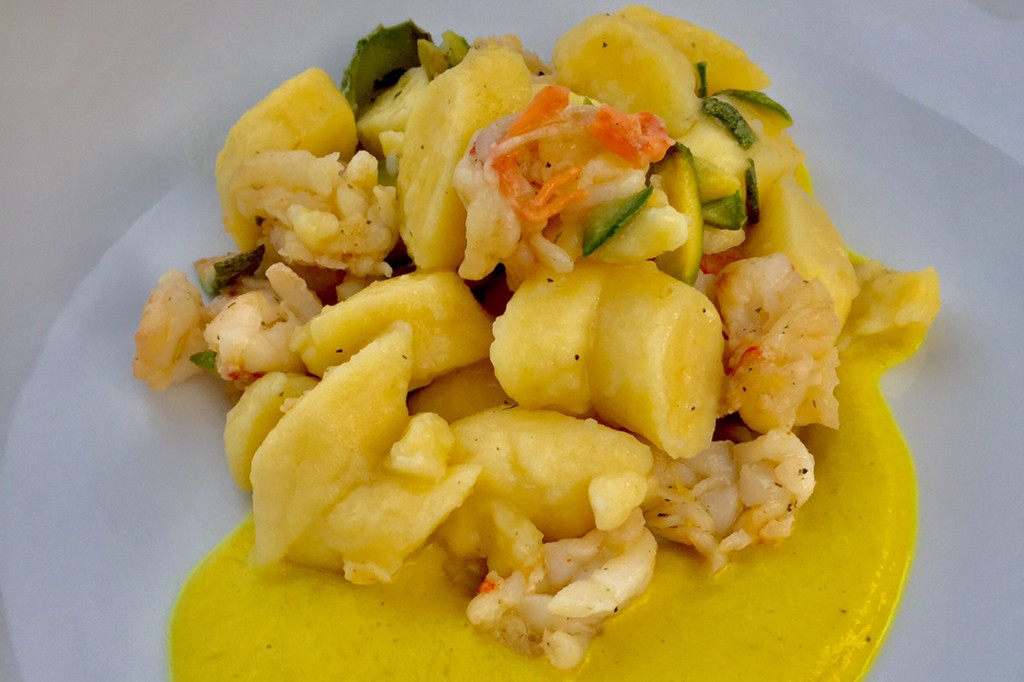 Gluten-free Gnocchi with Shrimp